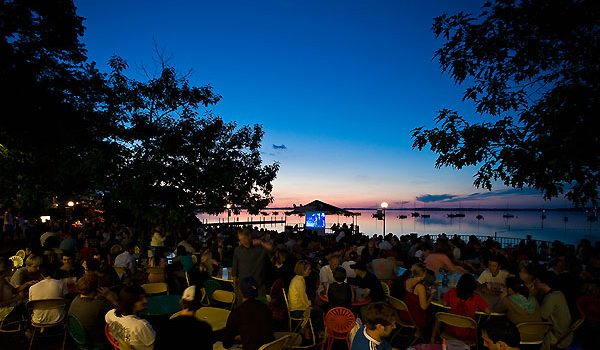 Wisconsin Union Lakeside Cinema event