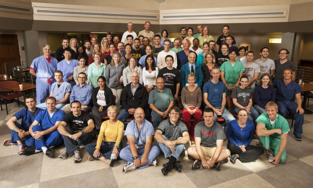 Department of Ophthalmology & Visual Sciences Phaco course Sept. 8, 2012. (Photo © Andy Manis)