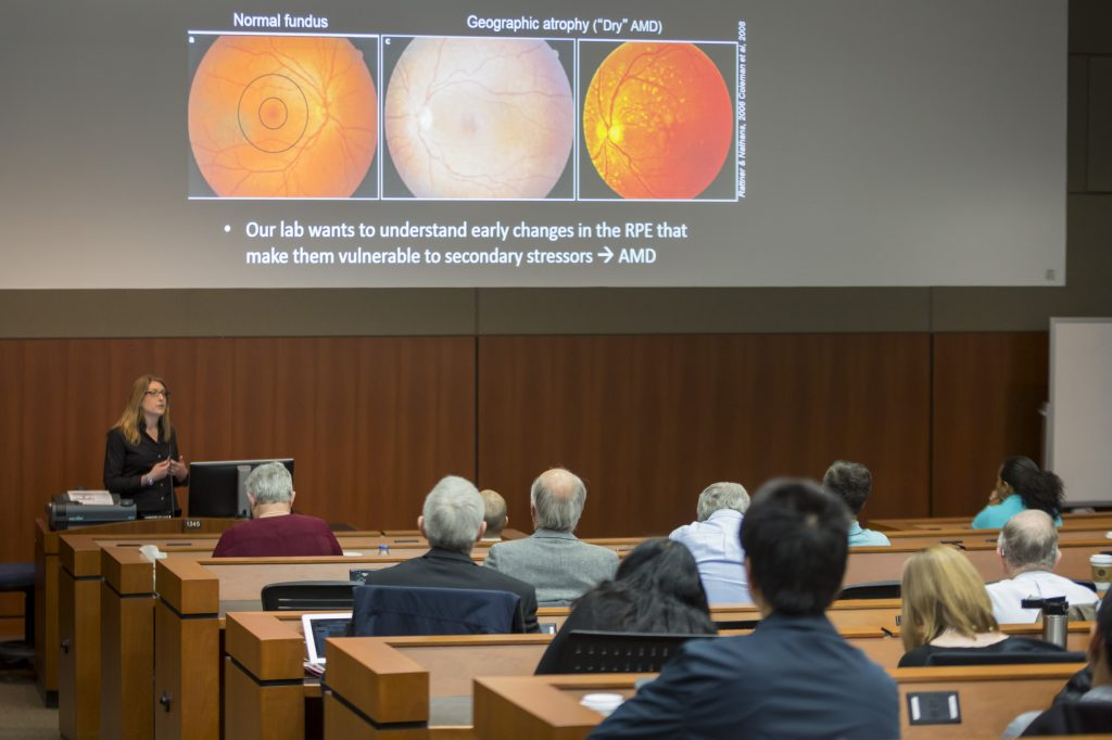 Department of Ophthalmology & Visual Sciences Symposium April 1, 2016. (Photo © Andy Manis)