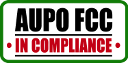 AUPO FCC In Compliance Button