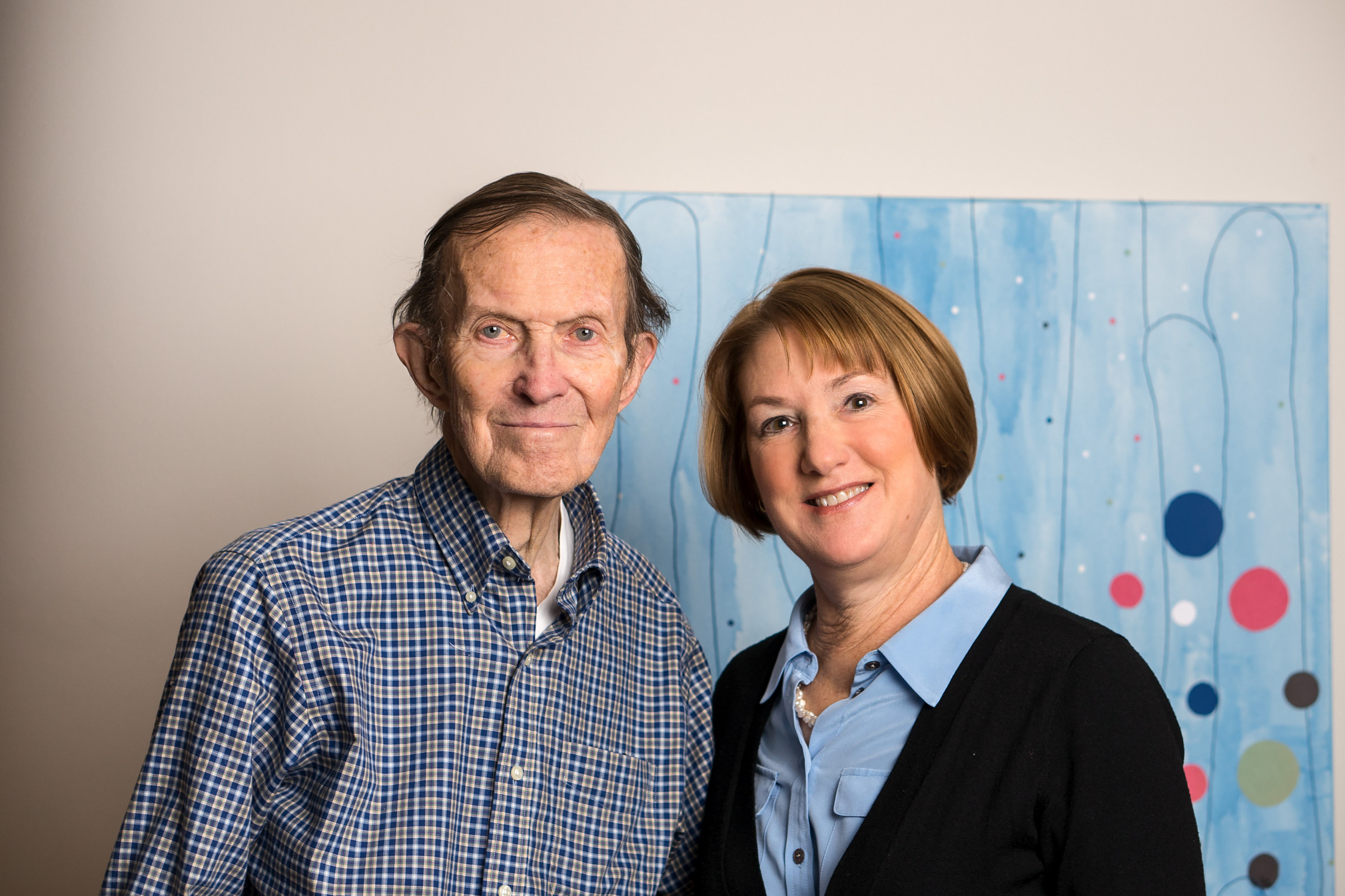 Drs. Matthew D. Davis and Barbara Blodi, 2018