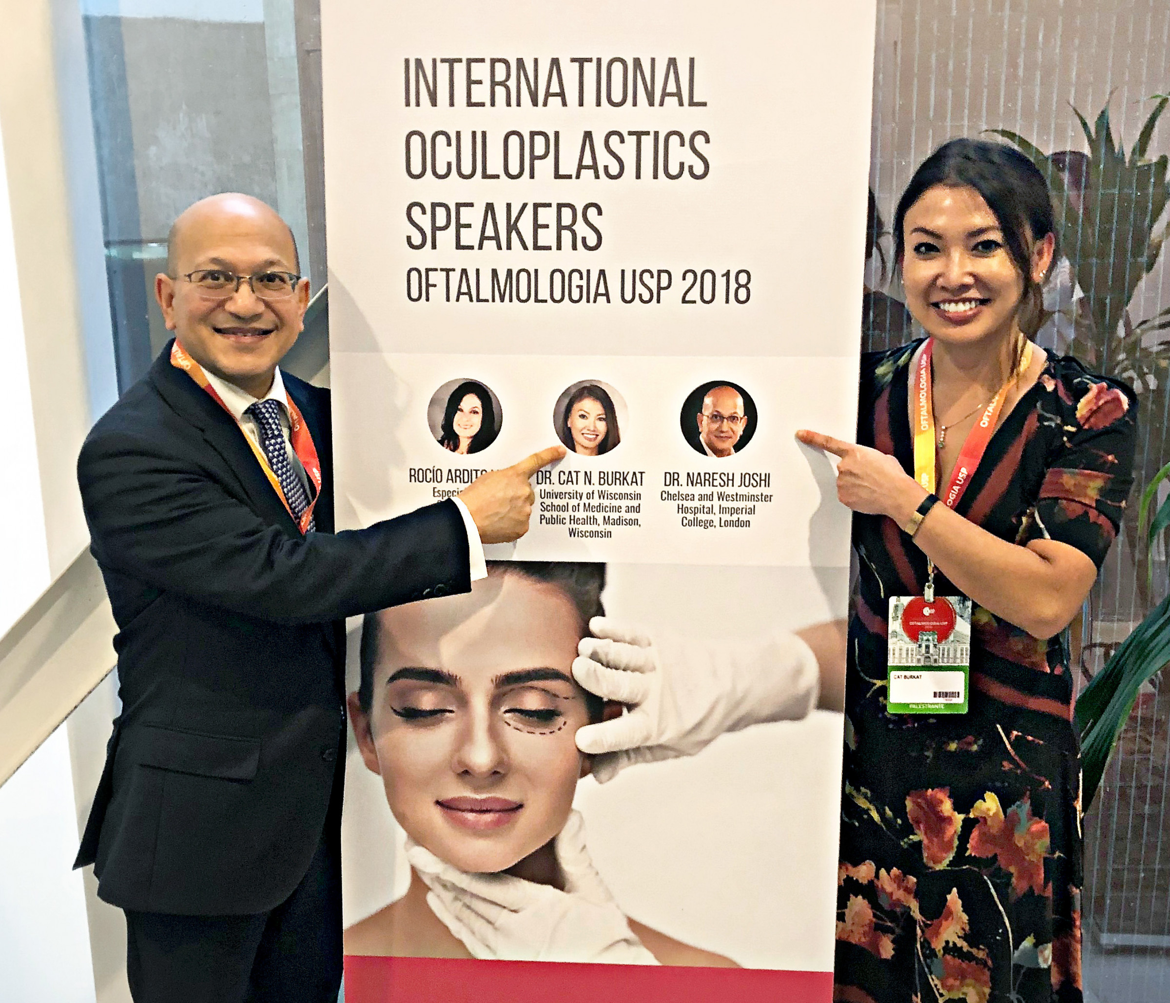 Faculty Present at University of Sao Paulo Brazil Ophthalmology Congress //