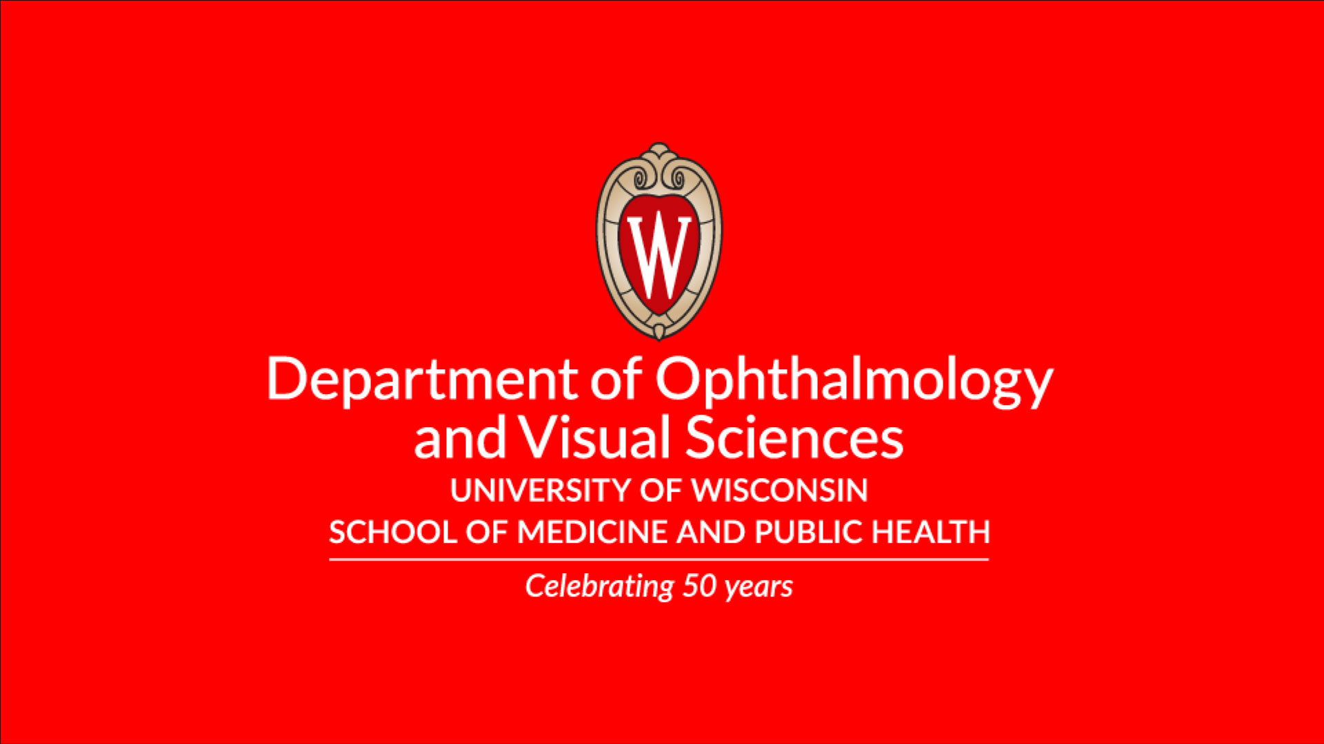 Celebrating 50 years of Ophthalmology at UW-Madison